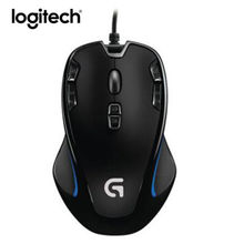 Logitech G300S Gaming Mouse 2500DPI Ergonomic Wired Optical Computer Gamer Mice(China)