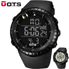 relogio masculino Top Brand Fashion Watch Men Waterproof LED Sports Military Watch Digital Swimming Climbing Outdoor Men Watches(China)