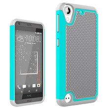 For HTC Desire 530 630 PC + Soft Silicone Dual Layer Hybrid Shockproof Impact Shield Armor Case For HTC 630 530 Defend Cover