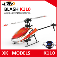 JJRC XK K110 Blash 6CH Brushless 3D6G System radio control RC Helicopter RTF remote control toy VS Wltoys V977(China)