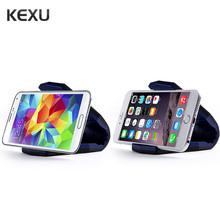 KEXU Universal Car Mount Dash Cell Mobile Smart Phone Holder Dock Cradle Stand Stealth Universal Mobile Phone Car Mount Holder(China)