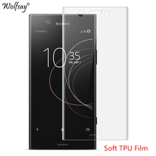 2PCS Wolfsay Screen Protector For Sony Xperia XZ1 Compact Nano Soft TPU Film (Not Tempered Glass) for Sony XZ1 Compact Film(China)