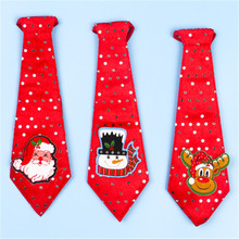 5pcs/lot creative lovely tieChristmas gift for Children party supply Christmas decorations wholesale
