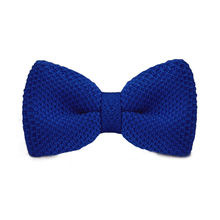 LF-312 Fashion New Arrival Knitted Crochet Men`s Bowties Adjustable Navy Solid Neckwear For Men Party Bussiness Free Shopping