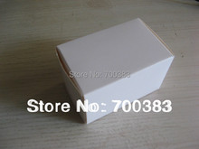 10 PCS Electronic Product Packaging White Box Size 2.76x1.78x1.78 inch 70x45x45MM White Paper Gift Box Paper packaging