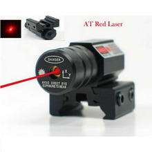 Hot Red Dot Laser Sight  50-100 Meters Range 635-655nm Pistol Adjust 11mm And 20mm Picatinny Rail HuntIing