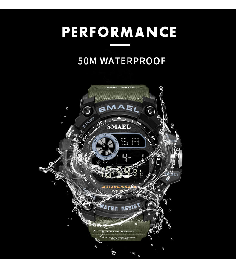 5 Waterproof Sport Watch