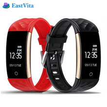 EastVita S2 Bluetooth Smart Bracelet Heart Rate Monitor IP67 Sport Fitness Tracker Wristband For Android IOS Phone r40(China)