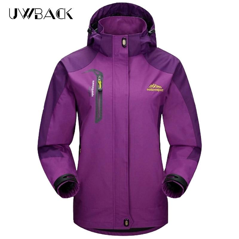 Windproof Waterproof Hiking Jackets For Women Outdoor Trekking Sports Rain Coat Warm Camping Jacket Female Windbreaker 4XL,UB182<br><br>Aliexpress