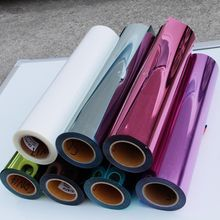 0.5mx 6m Metallic Heat Transfer Vinyl for T-Shirts,heat transfer printing film(China)