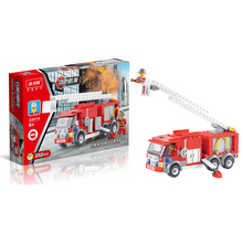 2017 Educational Toys New arrival 202pcs Fire Truck Building Blocks Small Particles DIY Action Figure Toys Best Gift For Kid