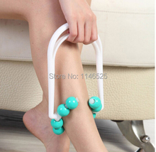 Roller Body Slimming Leg Massager Foot Calf Magic shapely legs Relax FREE SHIPPING