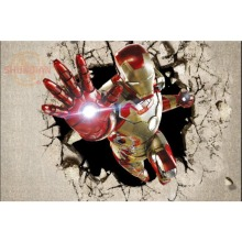 Best Nice Custom Iron Man Poster Good Quality Wall Poster Home decoration Wall Sticker For Bedroom cd%19