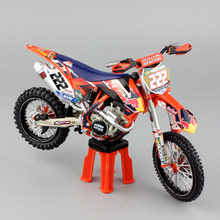 1/12 scale MX KTM SX-F 450 No.222 AMA Supercross ANTONIO CAIROLI red bull Motorcycle Diecast metal Model Motocross bike car toy(China)