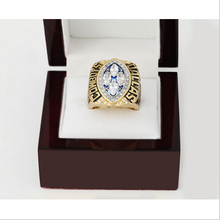Replica 1993 Dallas Cowboys Super Bowl Football Championship Ring Size 10-13 With High Quality Wooden Box Best Gift For Fans(China)