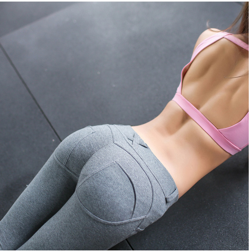 HEYJOE S-XL Women Low Waist Pants Push Up Sexy Hip Solid Trousers For Women Fashion Elastic Leggings Adventure Time for girl 11