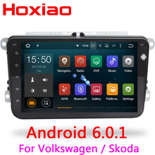 Android 6.0 Gps Auto Radio 2 Din Car DVD Player For Skoda VW Fabia Octavia Superb Yeti Volkswagen POLO PASSAT Golf Seat CC R32(China)