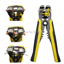 Multi-functional Automatic Cable Wire Stripper plier Self Adjusting Crimper Terminal Tool crimping tool combination plier cutter(China)