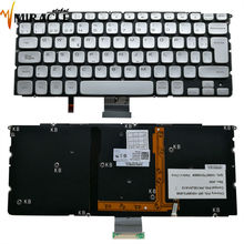 New original Spain with backlight keyboard for DELL XPS 14Z(L412z) 15Z L511z  Silver LA/SP Laptop Keyboard PK130JN1A12