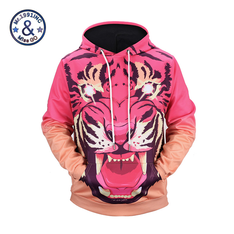 tiger hoodies 3d