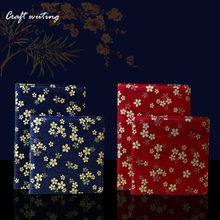Fabric Sakura Notepad Agenda 2017 Planner Cloth Book Cover Travel Notebook Journal DIY Diary Organizer Gifts 0714