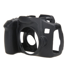 Waterproof Protective Dustproof Silicone Gel Rubber Camera Case Bag For Canon EOS 60D Black(China)