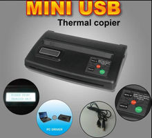 Wholesale Display Tattoo Transfer Machine Mini USB Stencil Thermal Copier Maker Machine For Tattoo Copy Supply TA-001H