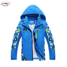 Promotion New 2016 Autumn Brand Fashion Children Boy's Jackets Coats Prevent wind and rain,Kids Outerwear Clothing