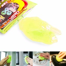 Keyboard Cleaning Dust Cleaner Tools Compound Gel Transparent Cleaner Keyboard Magic Cyber Laptop Cleaning Tool Kit Sponge 1pcs