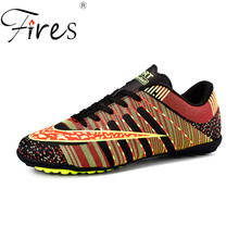 Soccer Shoes Men Outdoor Turf Comfortable Sports Training Shoes Sneakers Children's High Quality Short Nail Football Shoes
