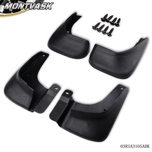 Mud Flaps Splash Guards Fender Mudguard For Hyundai Elantra 2011 4PCS(China)