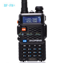 BAOFENG BF-F8+ two way radio 5W Dual Band VHF UHF 136-174MHz&400-520MHz Walkie Talkie Ham FM handheld Radio Transceivers Classic