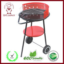 DHL Free Shipping Household Stainless steel outdoor couple barbecue brazier charcoal portable mini bbq grill
