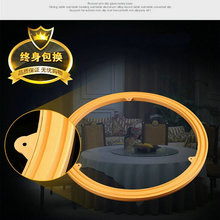 16IN/40CM Yellow Color Strong Rubber Anti Slip Glass Universal Rotary Base Dining Table Turntable Bearing TV Swivel Stand(China)