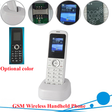 Russian English Spain GSM Cordless Support SIM Card Wireless Phone With SMS Backlight LCD Screen GSM Telephone For Home Black(China)