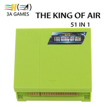Vertical Vision 51 In 1 The King of Air Game Board Flight Shooting Simulator Video Game Machine Pandora's Box Class 51 in 1 game(China)