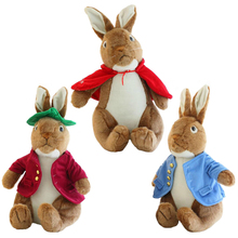 1pcs 40cm Fashion Peter Rabbit Toys and Hobbies Lovely Girl Gift Cute Rabbit Doll 3 styles Free Shipping