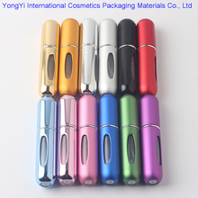 5ML Mini Portable Travel Refillable Perfume Atomizer Bottle&Spray Scent Pump Case Empty parfum Bottles&Aftershave Makeup Spray