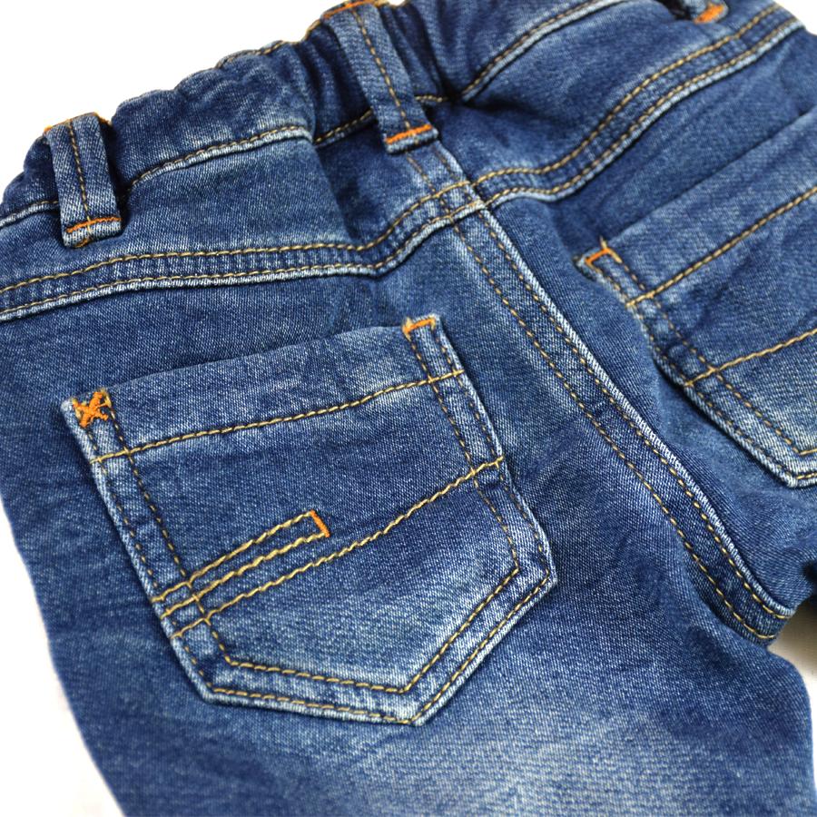 HSIN1609001-3Infant Baby Boys&Girls Jeans Newborn Kids Warm Denim Harem Pants New Born Bebe Pantalones Toddler Crawling Soft Leggings Winter