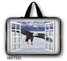 Eagle New Neoprene 7/ 10/ 11/ 12 /13 14/ 15/ 17 Inch Laptop Sleeve Bag Handle Bag Netbook Inner Pouch Computer PC bag(China)