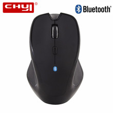 Hot Sale Ergonomic Bluetooth Wireless Mouse Optical Computer Mice 1600DPI Mause for PC Laptop Tablet Wireless Gaming Mouse(China)