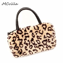 Hot Sale Women Handbags Faux Fur Day Clutch Bag Purse Handbag Clutches Fur Bags Candy Colorful Women Bag Female Messenger bag
