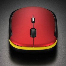 computer mice wireless gaming mouse gamer Red Slim USB Wireless Optical Mouse Mice F Computer Macbook PC Laptop Notebook
