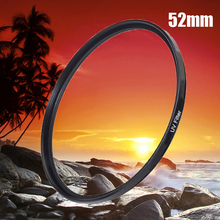 52mm UV Filter Lens Protector 52 mm camera filtros wholesale Price for Nikon D3100 D3200 D5100 D5200 D7100 Canon 1200D 600D 700D(China)