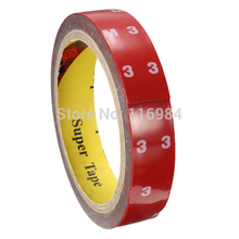 1pcs x 20mm x 3M Auto Acrylic Foam Double Sided Attachment Adhesive Tape