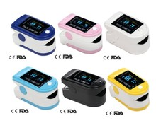 healthcare equipment- 4 direction OLED color display Fingertip Pulse Oximeter Spo2 Test Monitor / 6 colors for you(China)