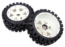 5B Front All Terrain wheels set with nylon super star wheel for baja parts,free shipping(China)