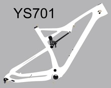 Mountain bike carbon frame Chinese Factory price Baolijia Chinese 27.5 er Boost rear thru axle 148 x 12 mtb plus carbon fiber