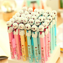 12 pcs/Lot Cute Sunny doll gel pen for writing Japanese kawaii pens stationery papelaria Office supply school canetas escolar