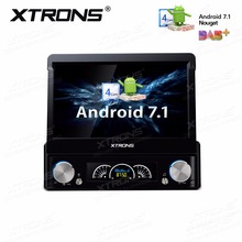 "XTRONS 7"" HD Universal Android 7.1 Nougat Digital Detachable Multi touch Screen 4K Video Stereo Car DVD Player Radio Unit GPS(China)"